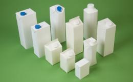 weißer verpackung karton